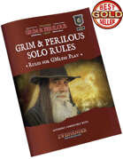 Cover of the Grim & Perilous Solo Rules