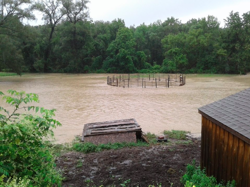 Flooding in Horseheads_August_2018