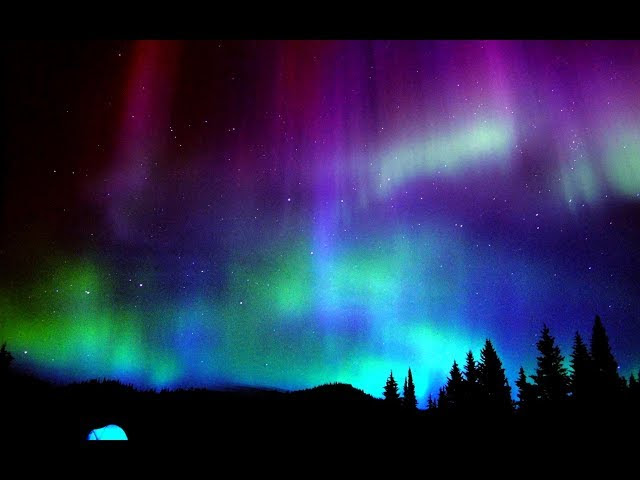 Time lapse shows Aurora Australis over Queenstown New Zealand  Sddefault