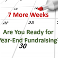 7 More Weeks – Are You Ready for Year-End Fundraising? - Clairification