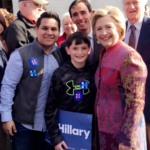 Jeremy Bramson supports Hillary Clinton on primary day.