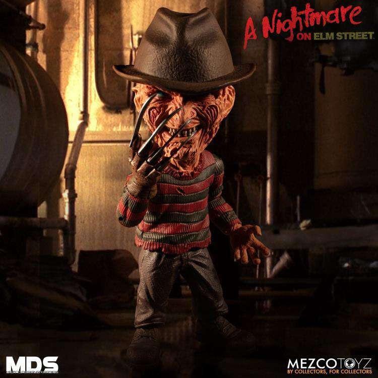 Image of A Nightmare on Elm Street 3 Mezco Designer Series Freddy Krueger