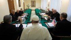 2019.09.18 Il Papa con il Consiglio dei Cardinali