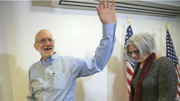 古巴釋放了已被監禁5年的美國承包商艾倫·格羅斯