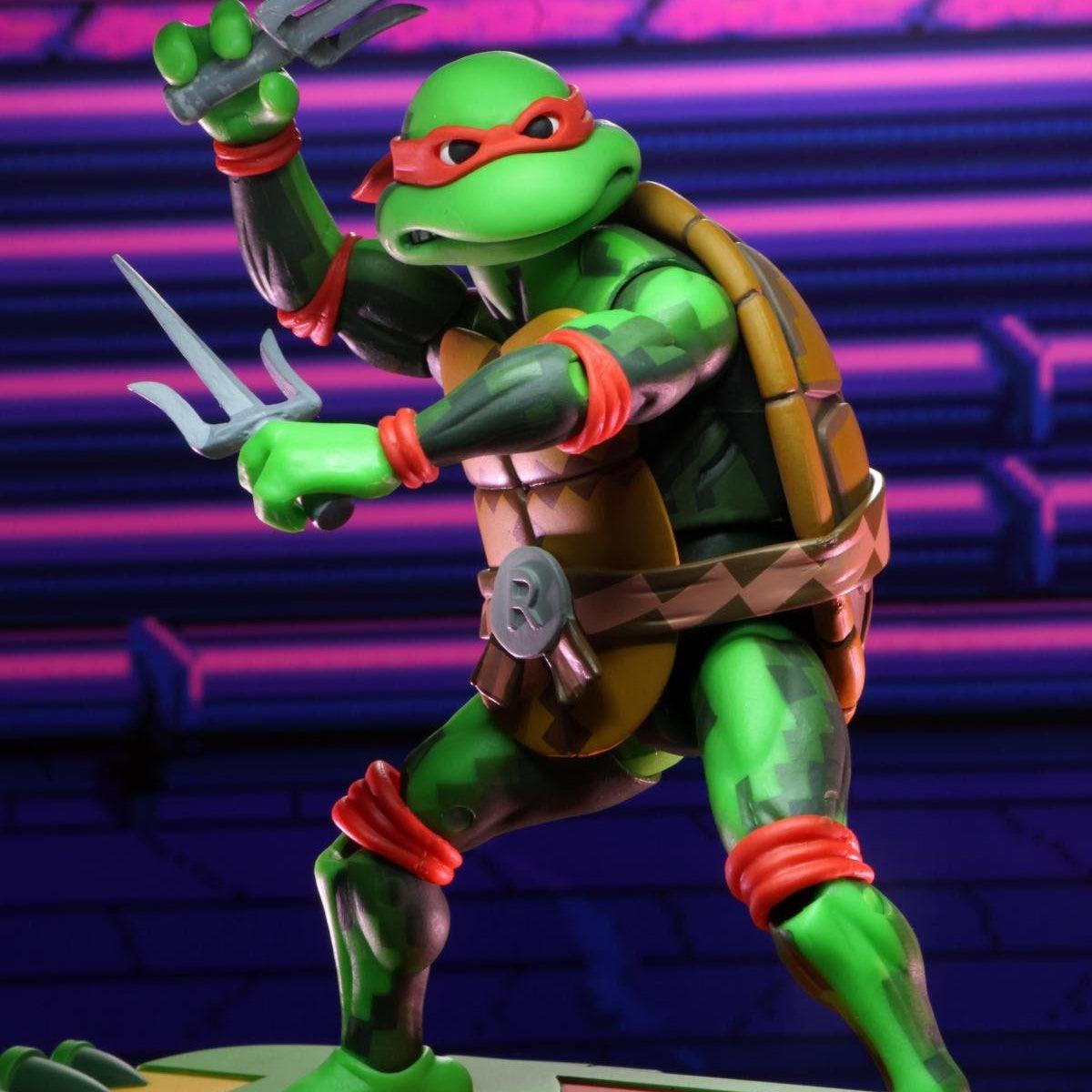 Image of TMNT Turtles in Time Series 2 - Raphael - JULY 2020