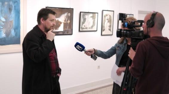 """Otvorenje izložbe Ivo Šebalj - Slikarstvo traži vrijeme, Umjetnički paviljon """"Juraj Šporer"""" u Opatiji"""