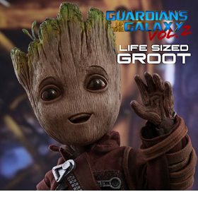 GOTGV2 LIFE-SIZE MASTERPIECE GROOT FIGURE