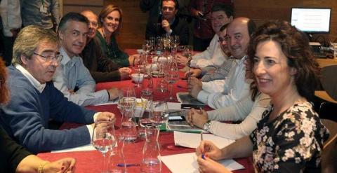 Ejecutiva del PNV analiza los resultados del 24 de mayo