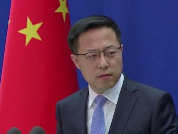 Zhao Lijian, Chinese Foreign Ministry Spokesperson speaking at a press briefing on Monday