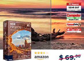HDR projects 5 Discount Coupon