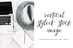 Vertical Styled Stock Image | 8