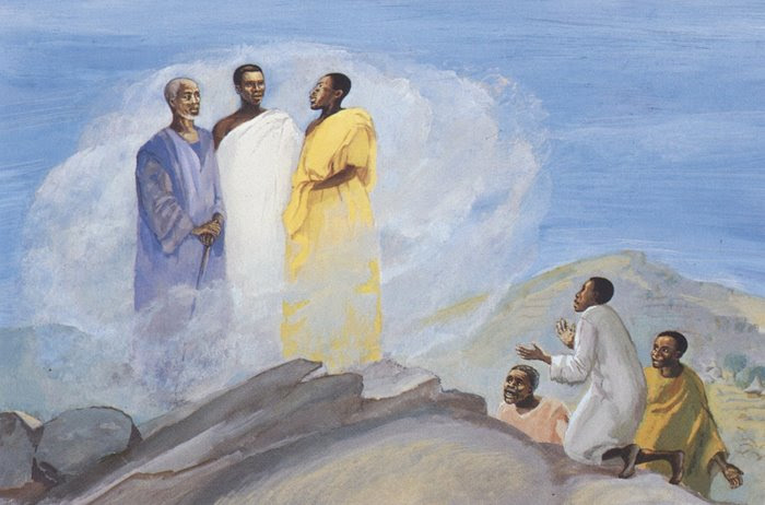 Jesus MAFA - Transfiguration
