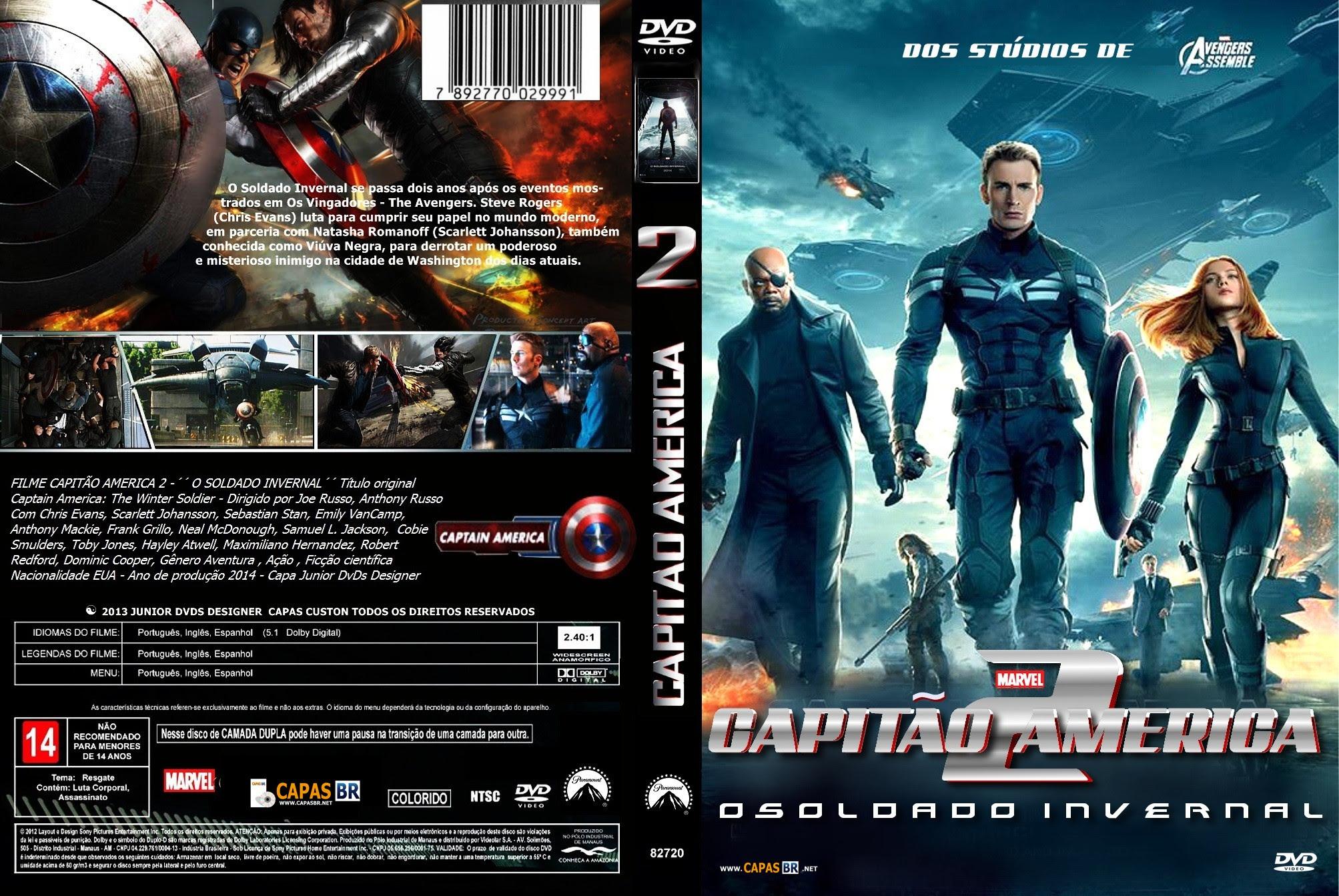 CCBkPu5 Capitão América 2   O Soldado Invernal Torrent   Dublado (2014)