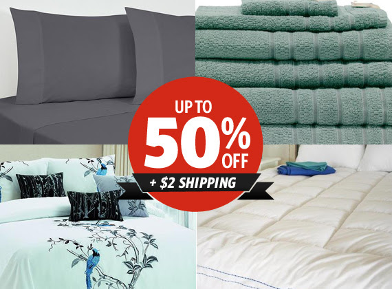 Save Up to 50% OFF Selected Ranges + $2 Shipping on All Manchester at DealsDirect.com.au