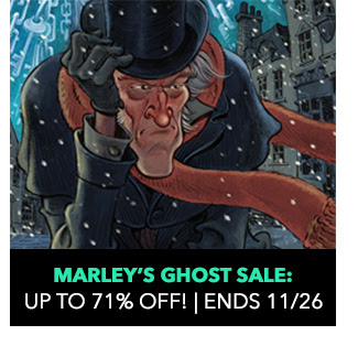 Marley's Ghost Sale: up to 71% off! Sale ends 11/26.