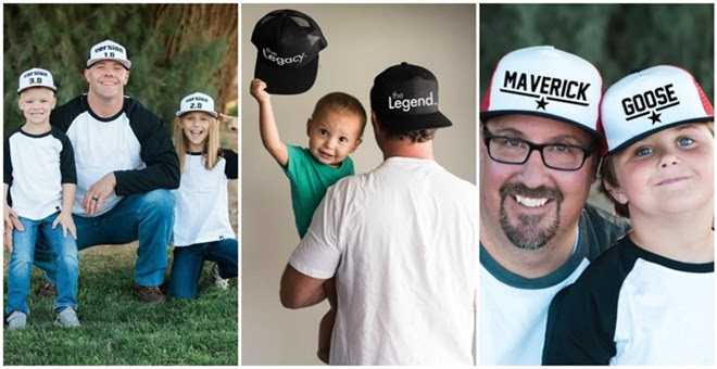 Daddy and Me Snapback Hats