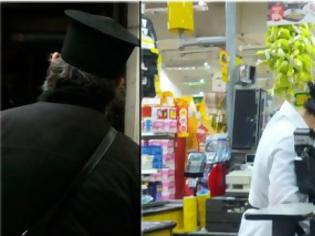 Φωτογραφία για Συγκίνησε Παπάς σε υπεραγορά στα Λειβάδια Λάρνακας – «Χίλια ευχαριστώ Πάτερ»