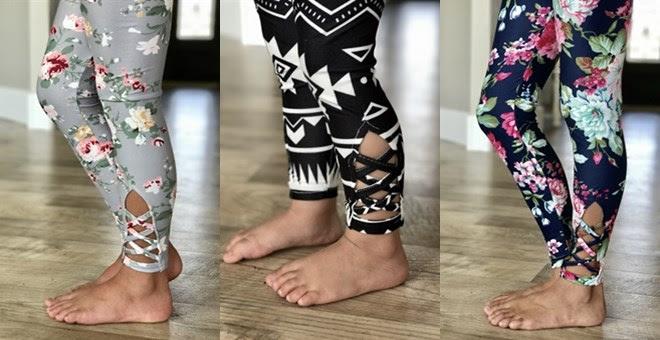 HOT!! Matching Criss Cross Leg...