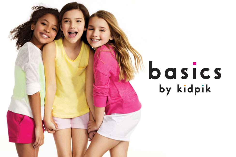 25% Off All Top at basics by kidpik