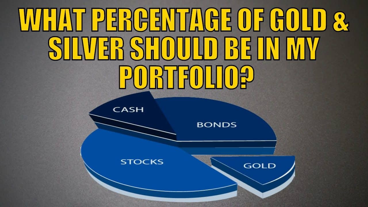 What Percentage of Gold and Silver Should Be in My Portfolio?