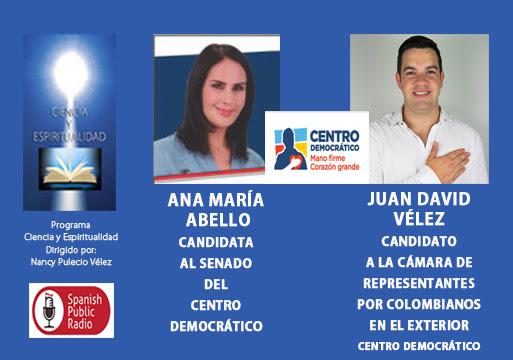 Juan David Vélez y Ana María Abello