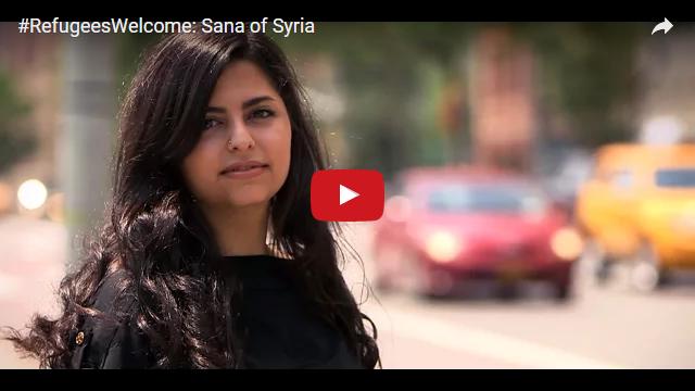 YouTube Embedded Video: #RefugeesWelcome: Sana of Syria