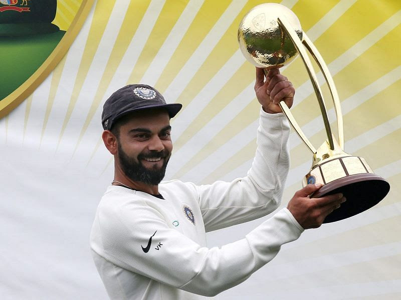 Virat became the first Asian captain to win a test series in Australia in the year 2019.