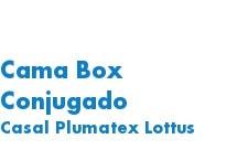 Cama Box Conjugado Casal Pl
