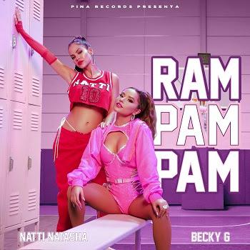 """NATTI NATASHA y BECKY G, las mujeres que cambiaron la música latina, llegan con la fórmula de verano a modo """"RAM PAM PAM"""""""