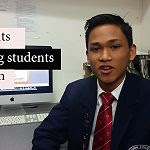 Students helping students to learn - Filipino