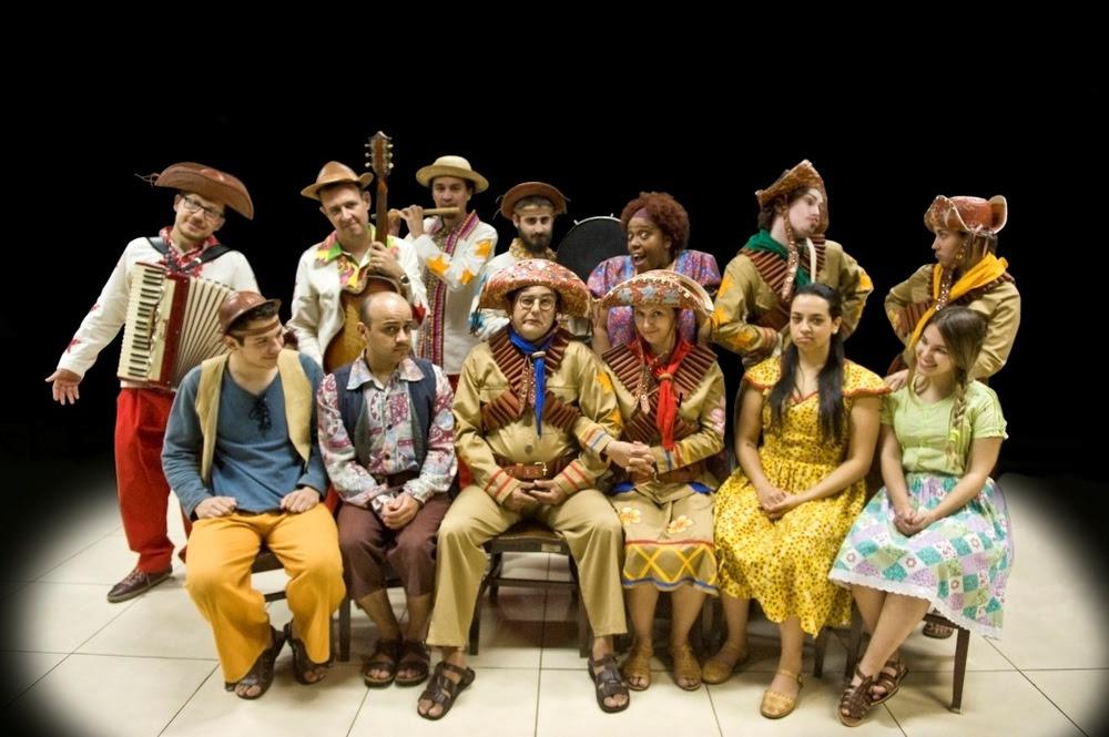 Grupo de Prática Teatral do Conservatório de Tatuí apresentará a comédia musical 'Lampião e Maria Bonita no Reino Divino'