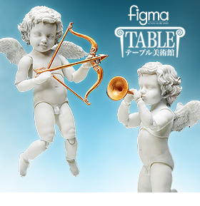 THE TABLE MUSEUM FIGMA FIGURE – ANGEL STATUES