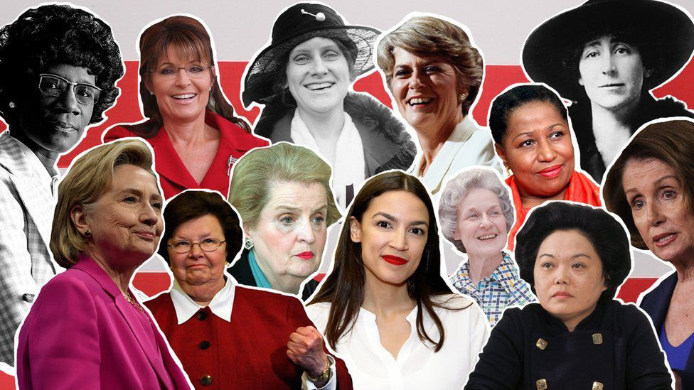 Pictures of women in politics