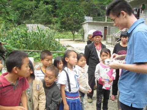 Allen Chen volunteered as a translator. His parents brought their car and traveled for several days with us.