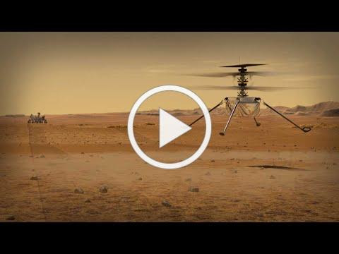 Mars Helicopter Prepares for Takeoff (Mission Trailer)
