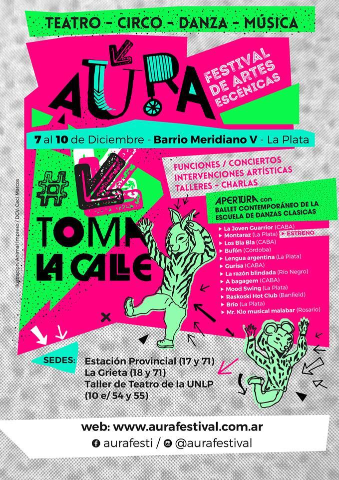 Festival Áura en La Plata