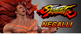 STREET FIGHTER 1/6 SCALE NECALLI