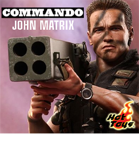 1/6 SCALE MOVIE MASTERPIECE COMMANDO FIGURE - JOHN MATRIX