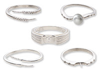 Additional Sterling Silver Ring Settings