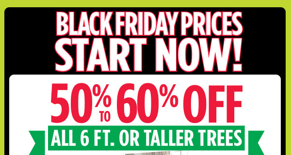 BLACK FRIDAY PRICES START NOW!
