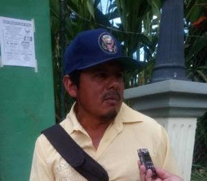 Jeremías Nolasco García presidente del Consejo Indígena Lenca de Cabañas