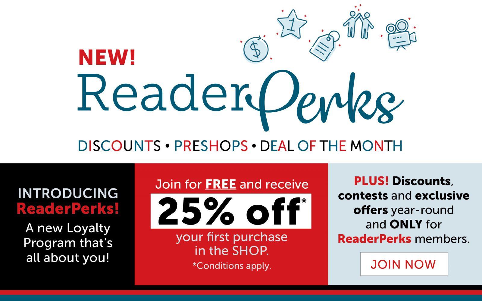 ReaderPerks