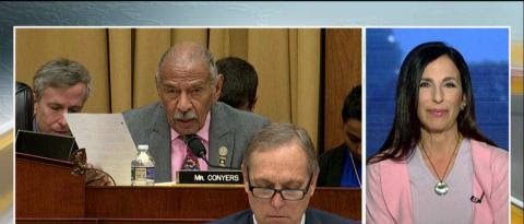 On 'Outnumbered Overtime' today, Harris Faulkner spoke with Melanie Sloan, one of the women who has accused Rep. John Conyers (D-Mich.) of inappropriate behavior.