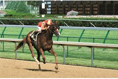 Danthebluegrassman wins the 2002 Northern Dancer Stakes at Churchill Downs
