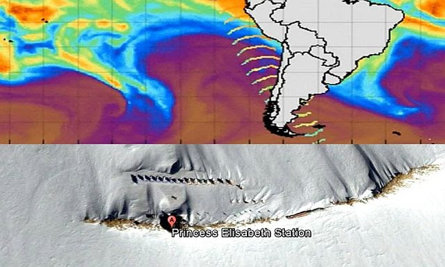 Antarctica Huge Wave Anomaly Caught Again! What's Going On? (Video)
