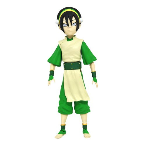 Image of Avatar Series 3 Deluxe Toph Action Figure - FEBRUARY 2021
