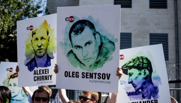 Global action in support of Sentsov to take place June 1-2