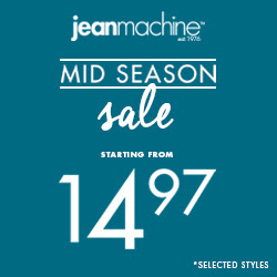 Jean Machine: Mid Season Markd...