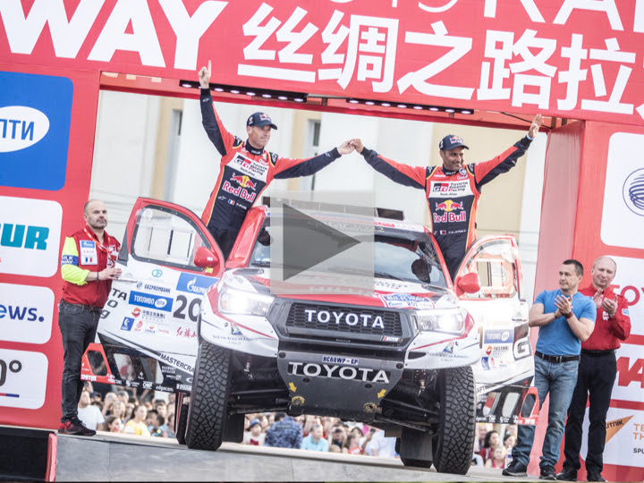 Siberia gives 2019 Silk Way Rally an extremely warm welcome