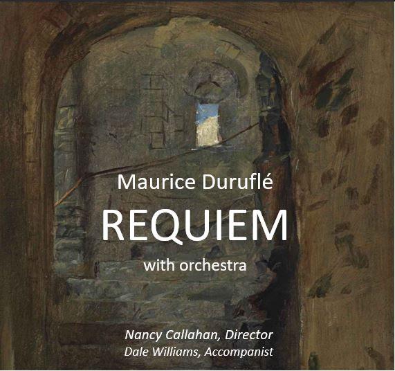 TOS Durufle Requiem concert poster